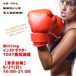 【東京・1DAY】Mitting™ インストラクター養成講座 @ 札幌市 | 北海道 | 日本